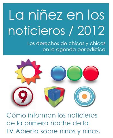 Niñez y noticias 2012