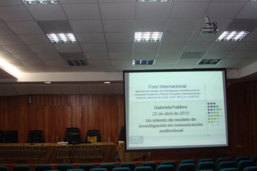 Ponencia Dra Gabriela Fabbro Ecuador 2013